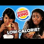 We Try Healthier Menu Items From Burger King