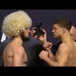 UFC 223: Weigh-in Faceoffs