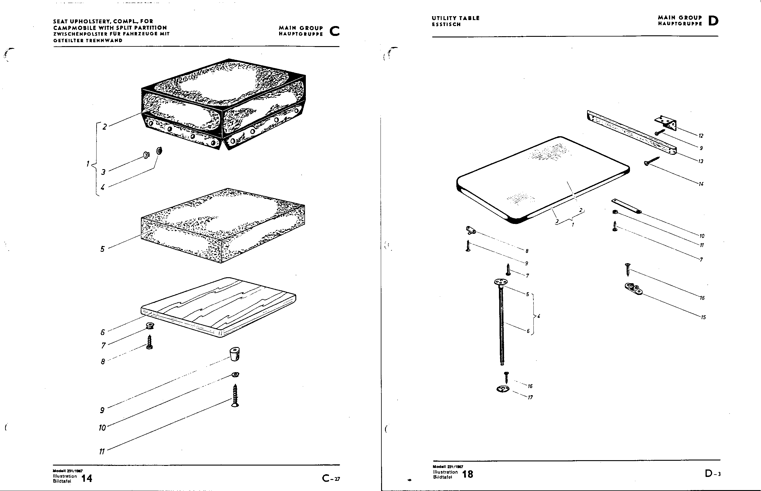 Obsolete Air Cooled Documentation Project So 42 Camper