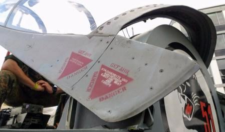 German Army Jet, Side