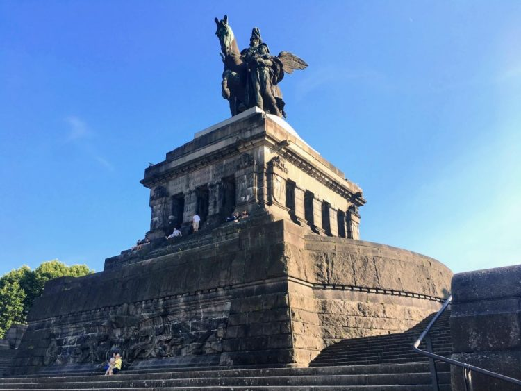 Deutsches Eck German Corner Rhine