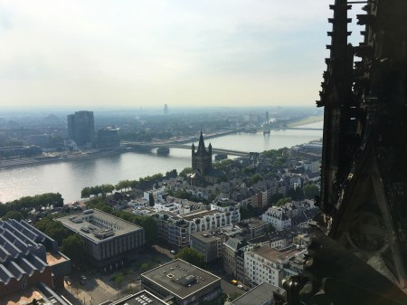 Cologne Cathedral Spire View