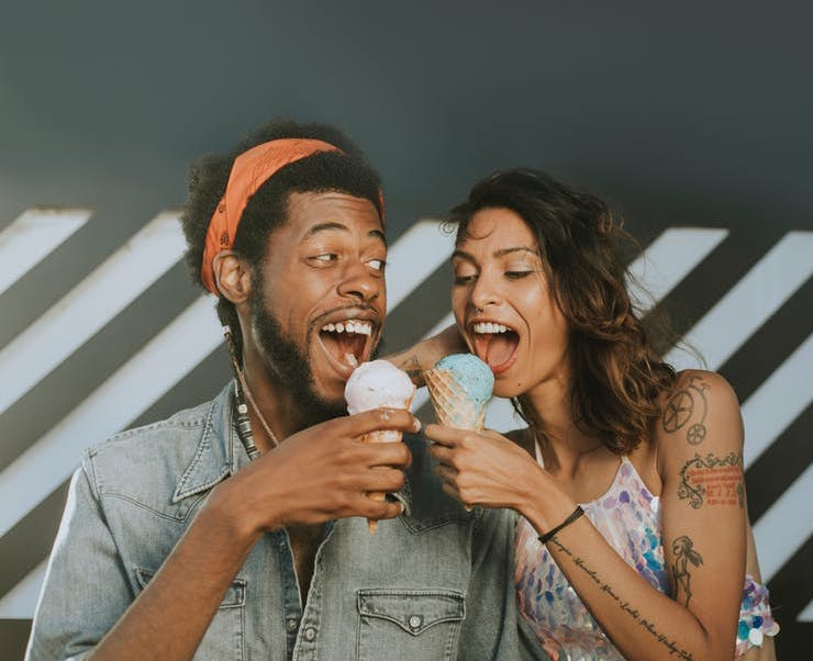 dating America ice cream