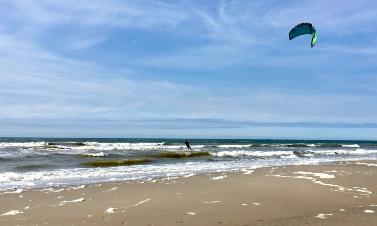 beach windsurfer The Hague