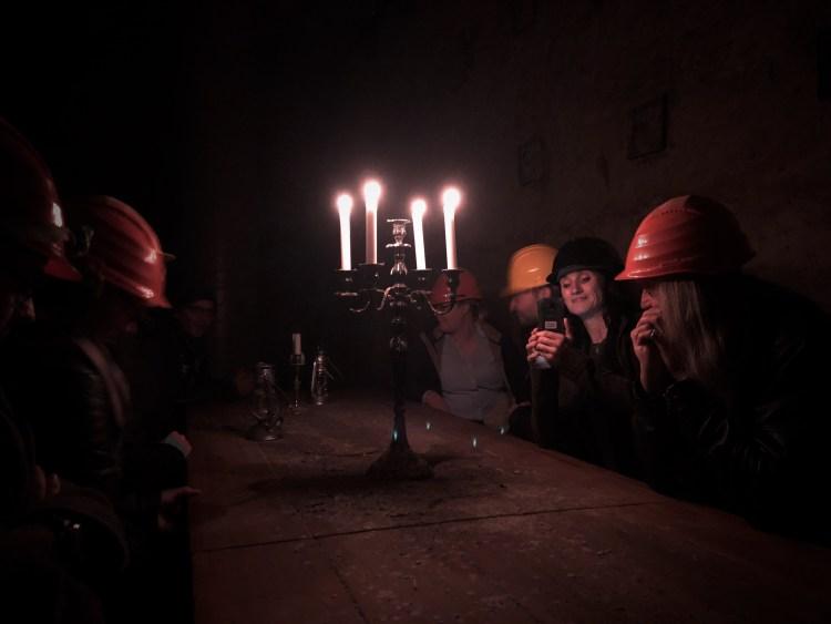 Nürnberger Felsengängen Dunkelführung