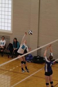 Oahe Elite volleyball 16s i - Peyton Pietz