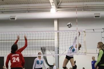 Oahe Elite volleyball 16s in Jamestown - Peyton Pietz