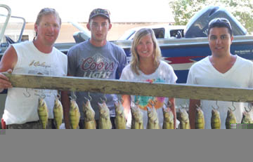 North Dakota group with some walleye and perch