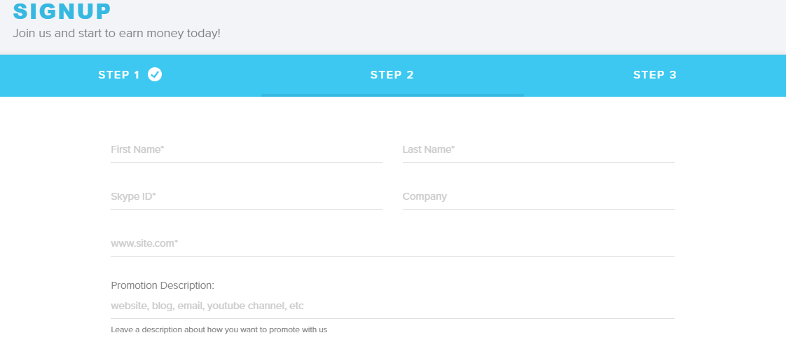 adcenter signup page 2