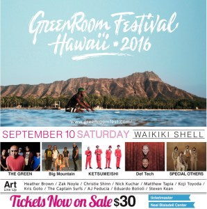 Greenroom Festival @ Waikiki Shell | Honolulu | Hawaii | United States