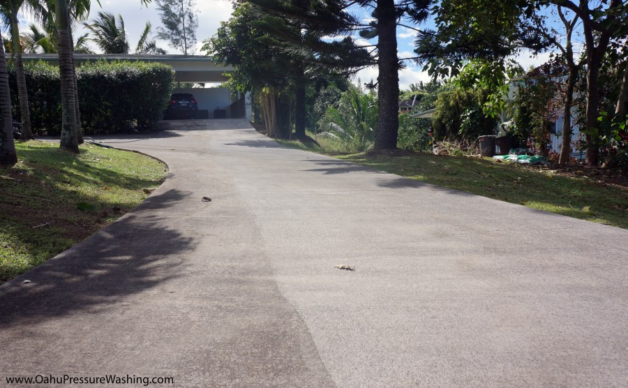 Oahu concrete cleaners