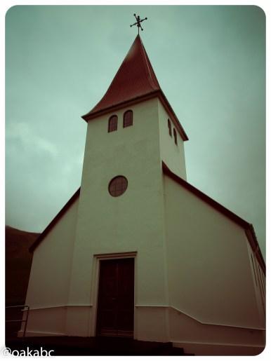 โบสถ์ประจำเมือง Vik   Vik Church