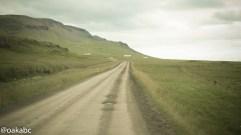 ถนนลูกรังมีเยอะมากที่ไอซ์แลนด์