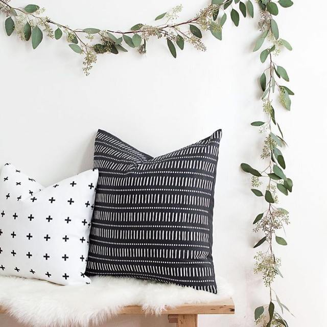 Decking the halls in eucalyptus! Check out this garland DIYhellip