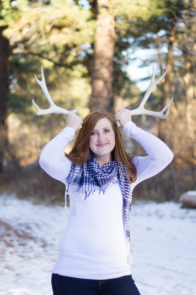 Oh deer - Love this fun Christmas Card photo Shoot!