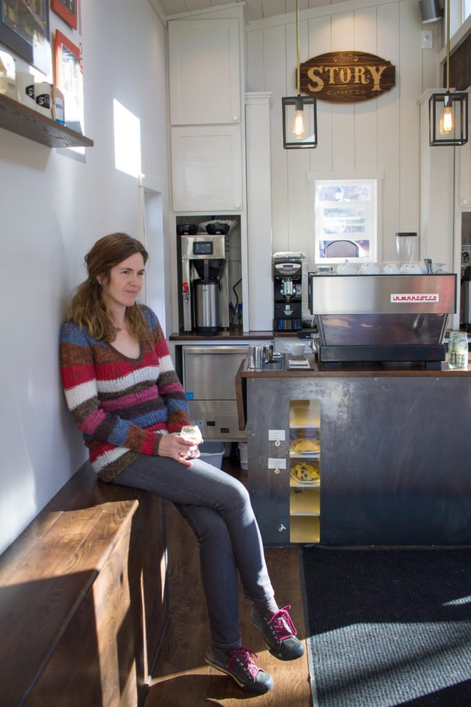 Story Coffee Company. Love this adorable Tiny House coffee shop in Colorado Springs!