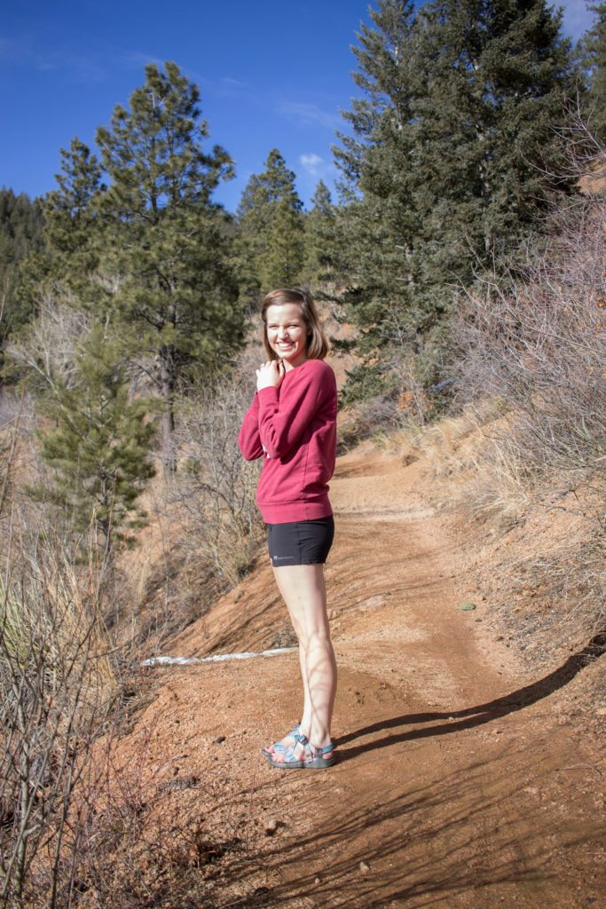 Hiking in Colorado Springs with Fayettechill