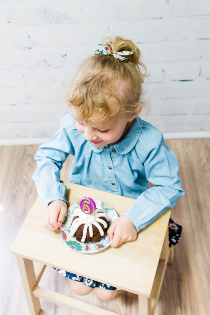 Birthday photos & outfits for her fifth birthday! 5th