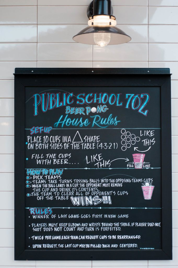 Where to eat out in Las Vegas - Public school 702