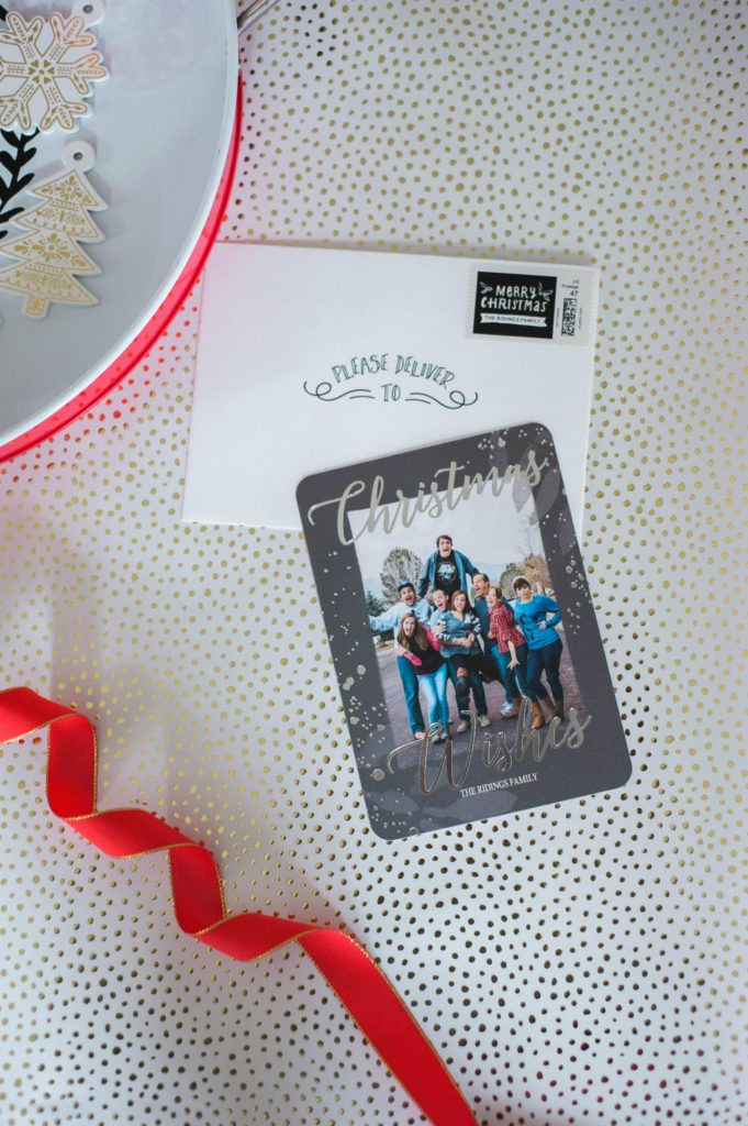 Christmas Cards with Tiny Prints 2016 #TinyPrints #CLVR
