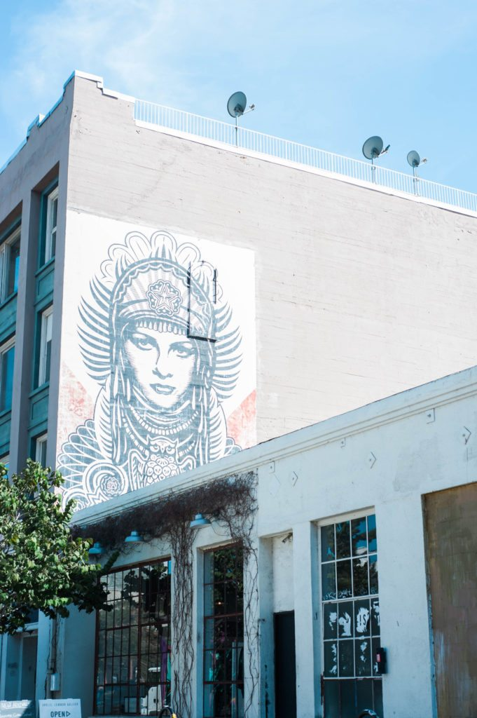 A day in LA's Arts District!