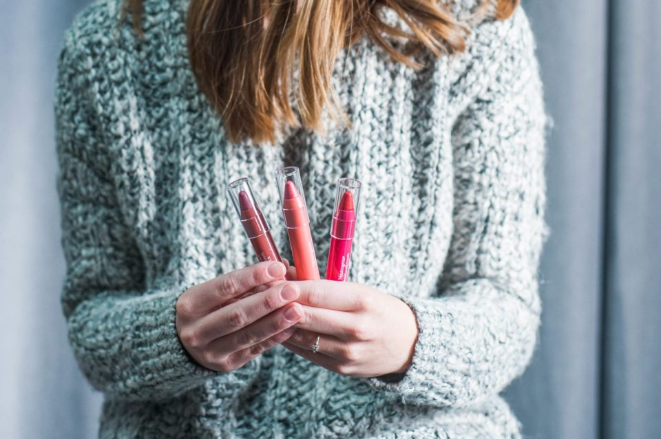 Three Lip Shades for Three Holiday Looks