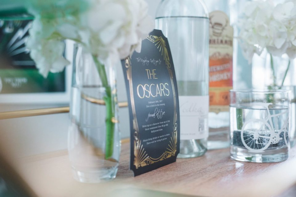 How to Host an Oscars Party - with fun invites from Basic Invite!