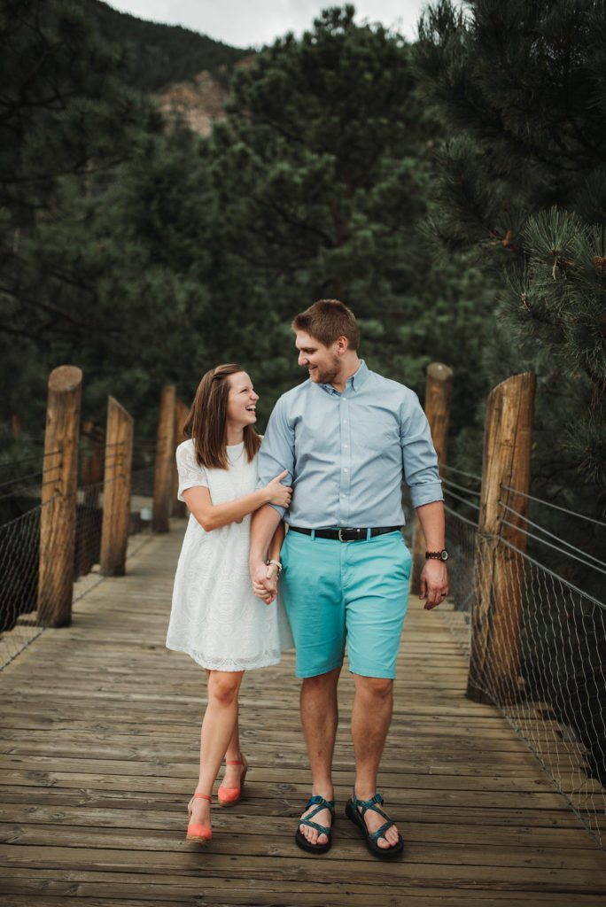 Elizabeth Mayberry of Oak + Oats engagement story and anniversary photos. Colorado photographer.