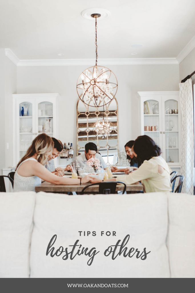 Tips for Hosting Others
