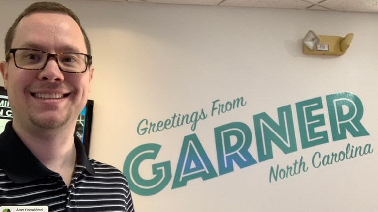 Alan at Garner Chamber Business Networking