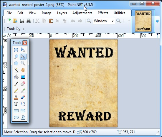 how to make poster in google docs