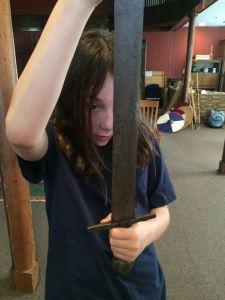 viking sword handling oakeshott