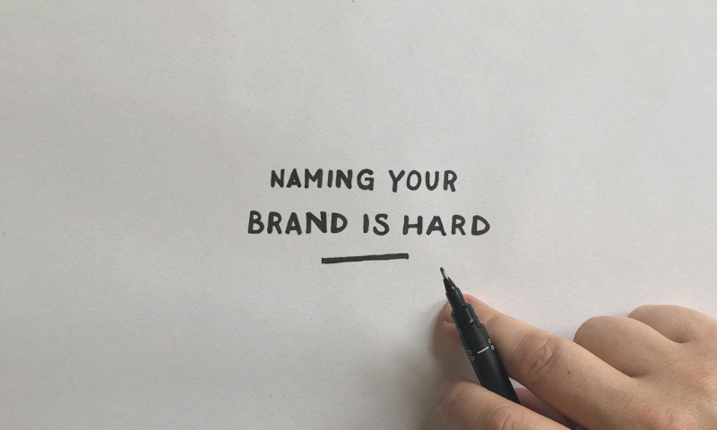 Naming your brand Oakfold Design