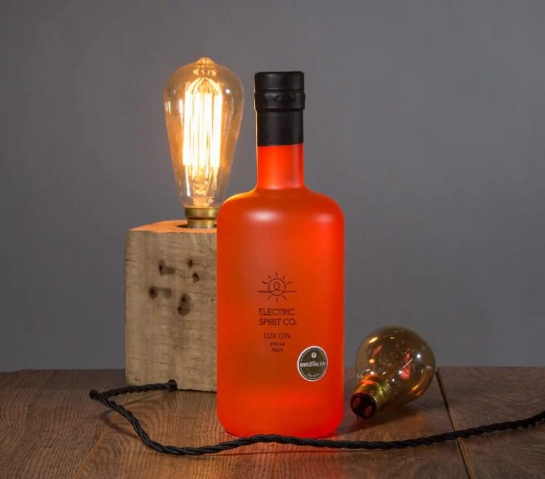 Electric Spirits Lux Label design