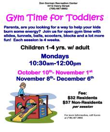 GYM TIME FOR TODDLERS 2