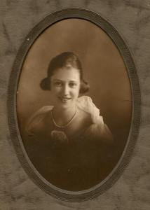 This photo is believed to have been taken in about 1918/1919 and was likely Katherine's high school graduation photo.