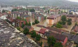 Flooding in Serbia and Bosnia