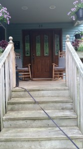 Front porch, before
