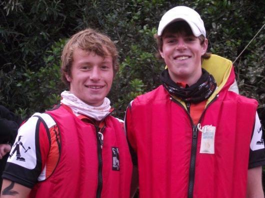 Brandon and Nick
