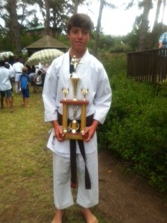 Callam Tait-end of year Karate function