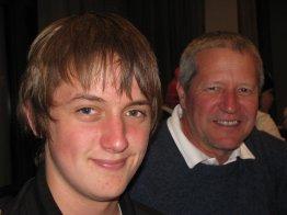 Son and Dad - Luke and Brett Stevenson