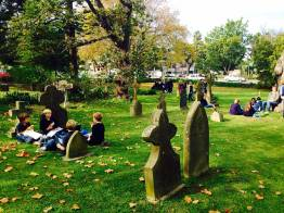 Cemetry at St George's Anglican Church