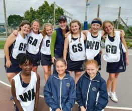 Oakhill U11 Girls Netball Team