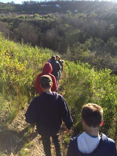 4 Grade 6 to Pledge Park appreciating regrowth (3)