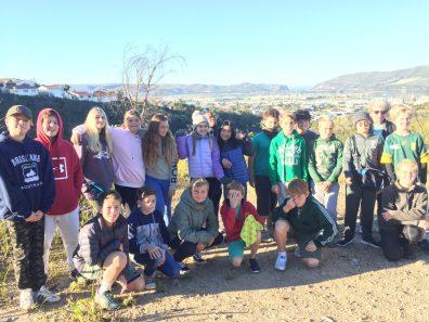 Grade 6 to Pledge Park appreciating regrowth (2)