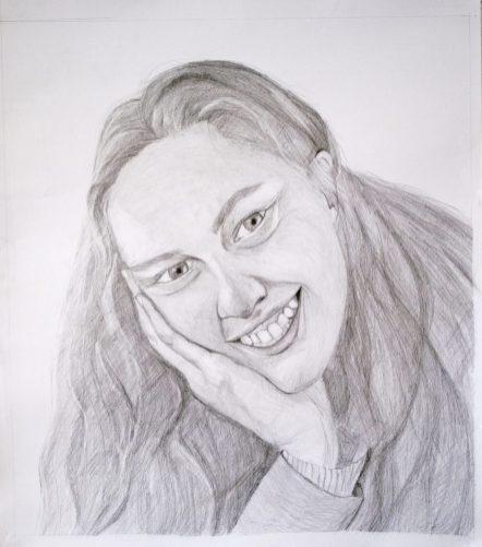 Gr 10 self portraits (10)