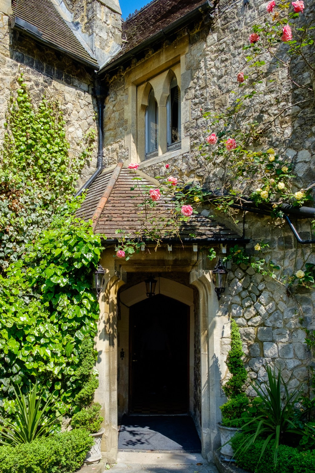 Entrance photo to Knowle Country House Kent Wedding venue by Oakhouse Photography