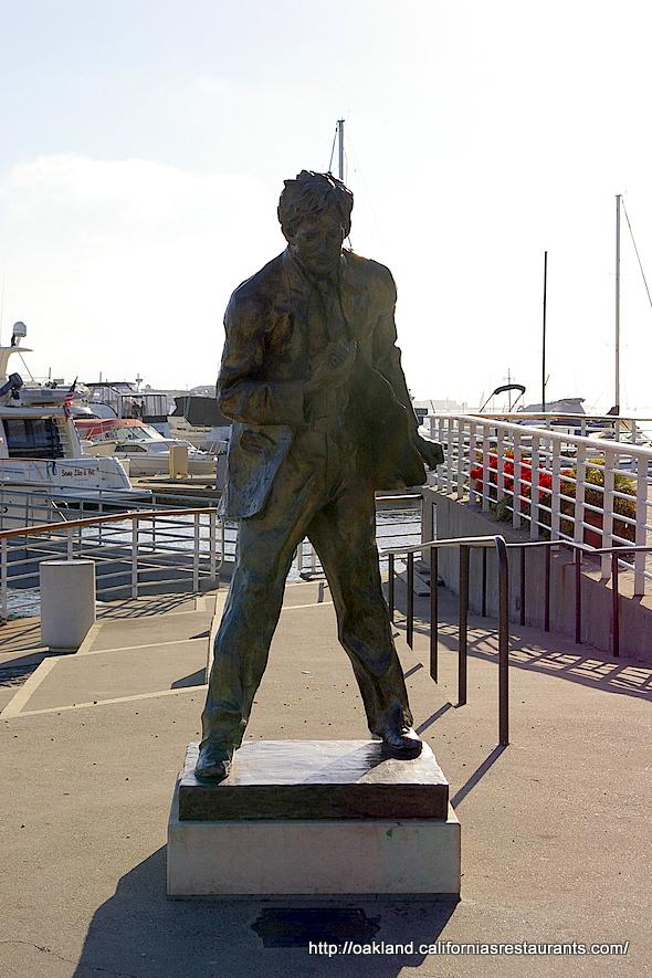 Jack London Square Statue Oakland California Ca Photo