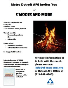 Smores and more Metro Detroit group Invitation to all @ Burnside Farm | Hamtramck | Michigan | United States