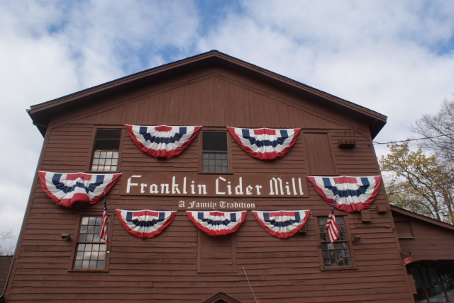 Franklin Cider Mill in Franklin, MI.